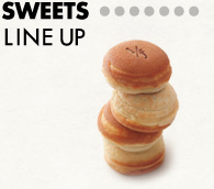 SWEETS LINE UP